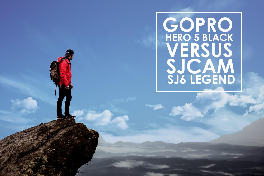 GoPro Hero 5 Black vs SJ6 Legend